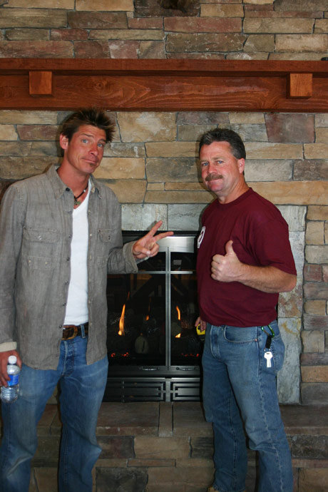 Rob Lewis and Ty Pennington